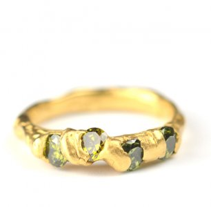 Cave 4 Stone Treasure Ring