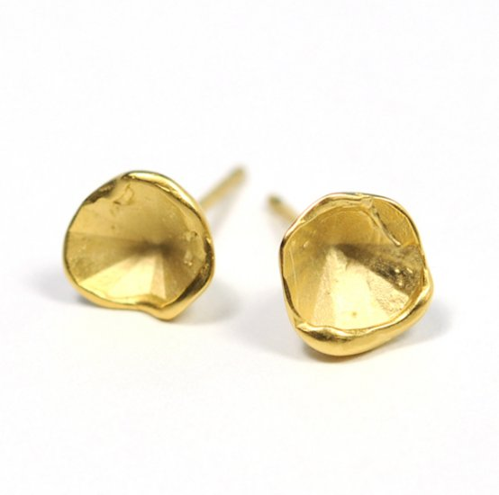 Cave Earrings (Medium) - Click Image to Close