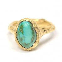 Cave Single Stone Treasure Ring